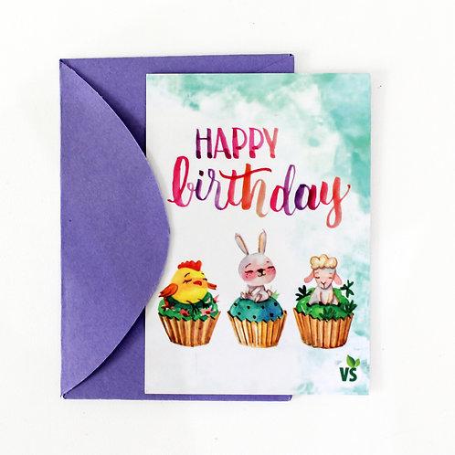 Cartão - Aniversário
