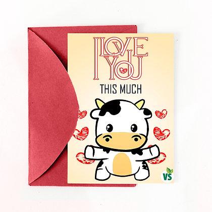 Cartão de Presente - Amor