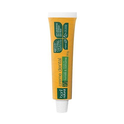 Creme Dental Cúrcuma e Hortelã - Boni Natural