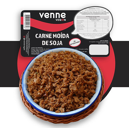 Carne Moída de Soja Venne Vegan