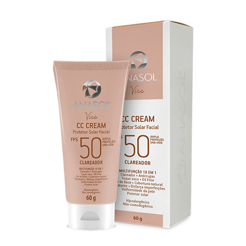 CC Cream Facial FPS 50 - Anasol - Viso