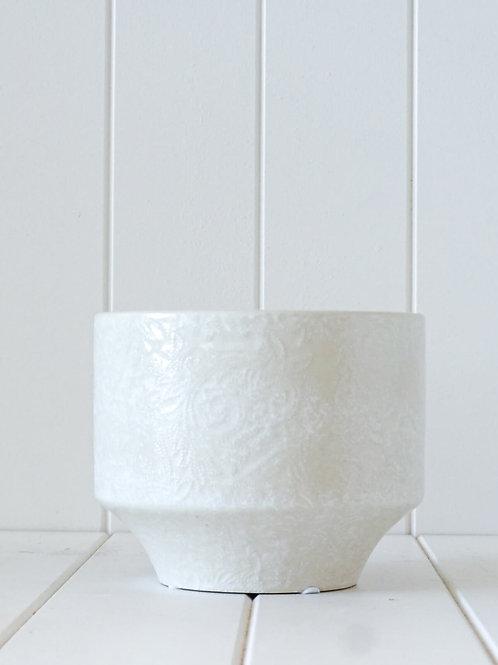 Pot/Planter Dijon Blanc
