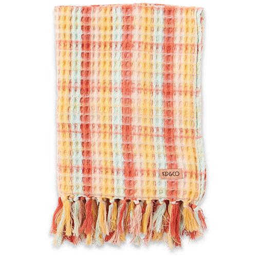 Desert Vista Waffle Beach Towel