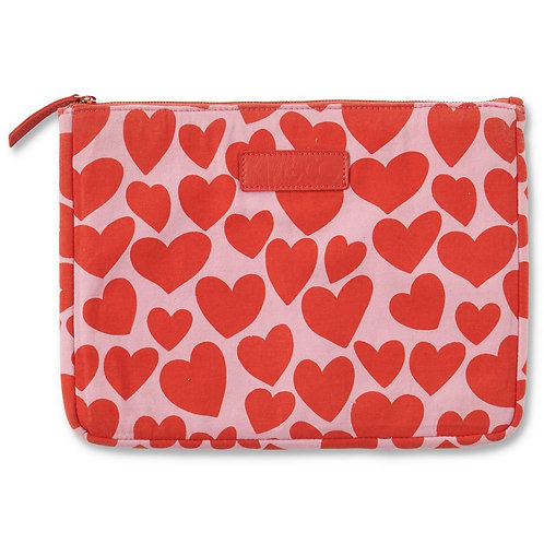 Big Hearted Laptop Carry All - One Size