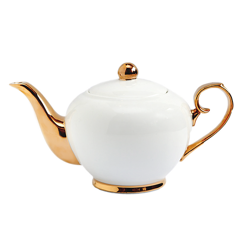 Ivory Teapot - 2 cup