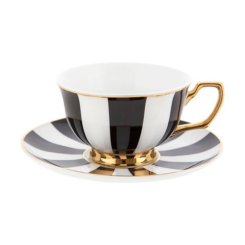 Teacup Ebony Stripes