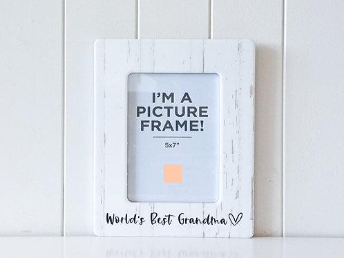 Photo Frame - World's Best Grandma
