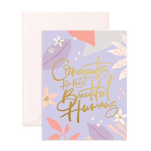 Beautiful Humans Greeting Card