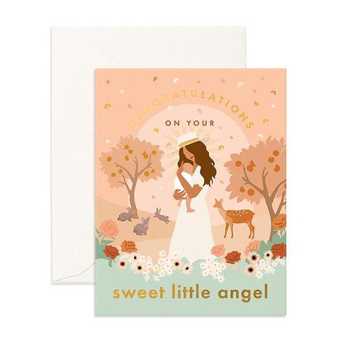 Sweet Little Angel - Greeting Card