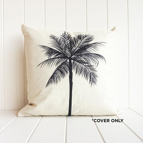 Monochrome Palm Indoor Cushion