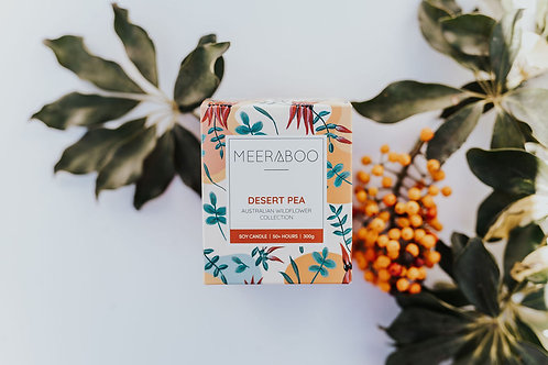 Desert Pea - Boxed Soy Candle