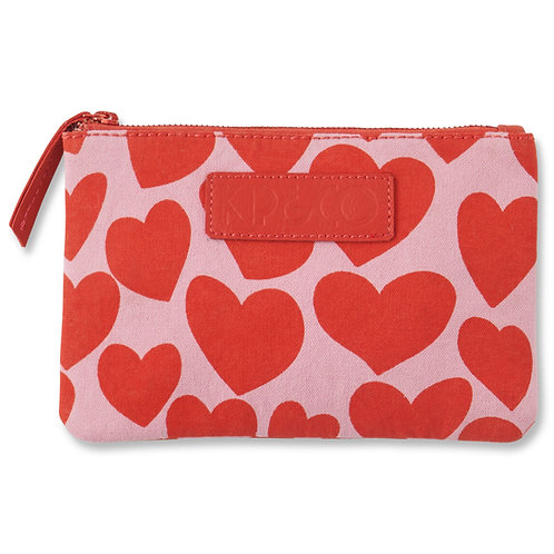 Big Hearted Cosmetic Purse