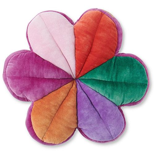 Carnivale Velvet Petal Cushion - One Size