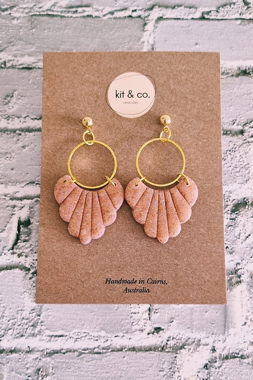 Hallie - Copper Dangles
