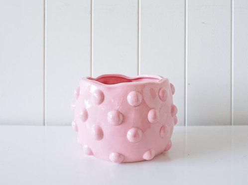 Pot/Planter - Bubble - Pink