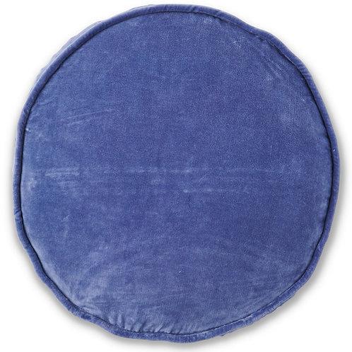 Dusk Velvet Pea Cushion