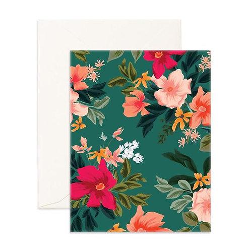 Wintergreen Blank Card