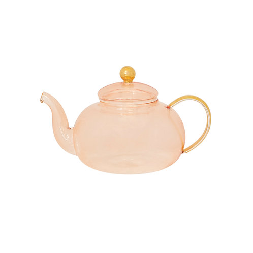 Teapot Rose Glass