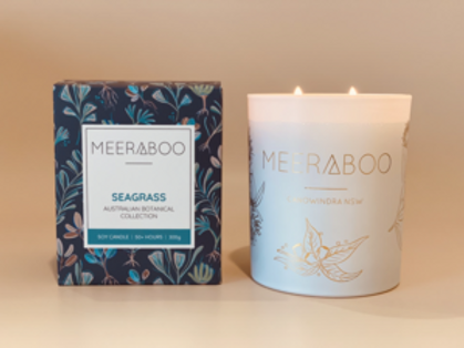 Segrass Boxed Soy Candle