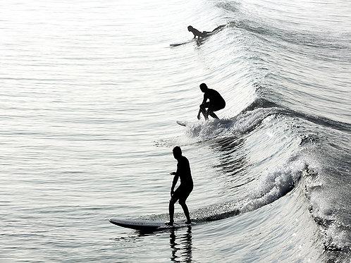 Catch The Wave Surfer 70x50cm
