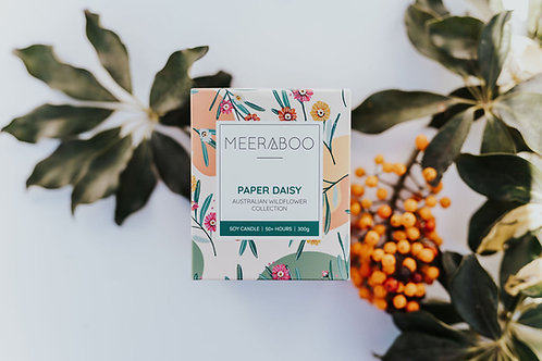 Paper Daisy - Boxed Soy Candle