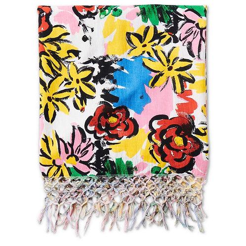 Rio Floral Cotton Hammam Towel