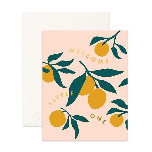 Little One Lemons - Greeting Card