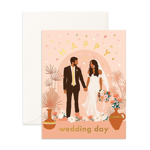 Wedding Day Alter Greeting Card