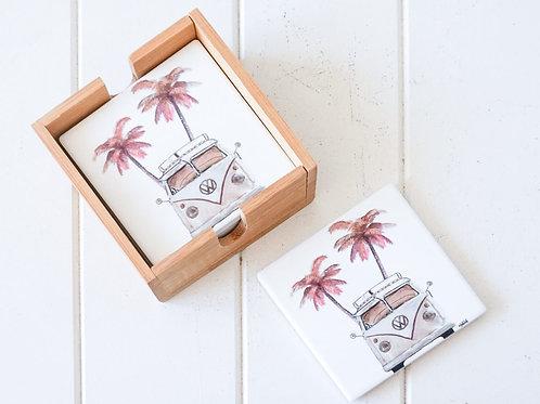 Combi - Ceramic Coaster Set