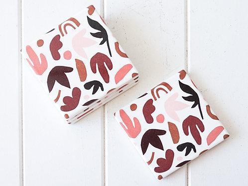 Autumn Leaves - Ceramic Coaster