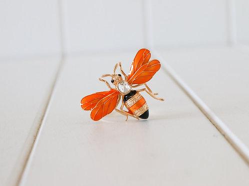 Bumble Bee Napkin Ring