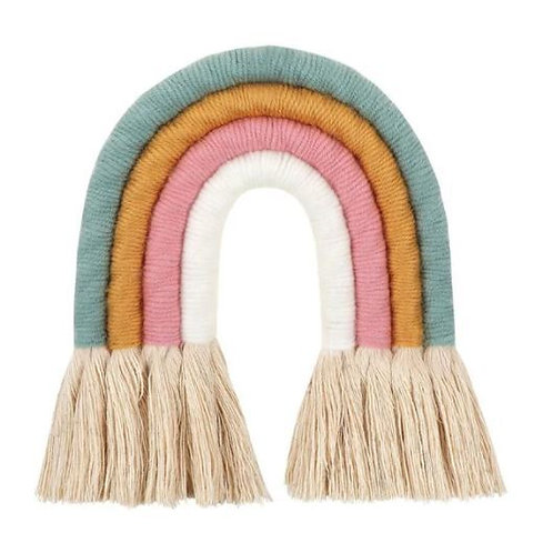 Macrame Wall Hanging - Rainbow