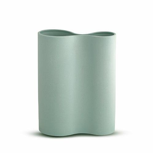 Smooth Infinity Vase Blue Medium