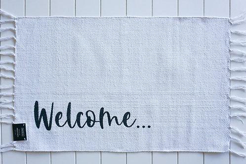 Welcome -Bath Mat