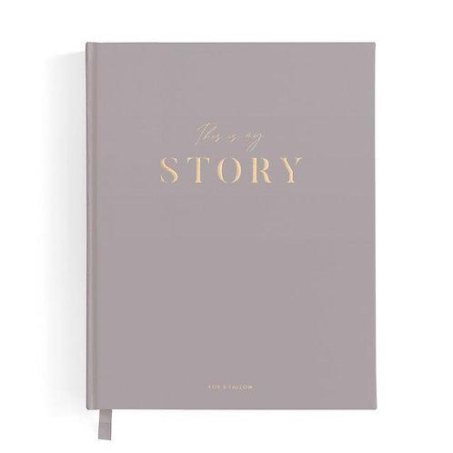 This is My Story Memoir Journal