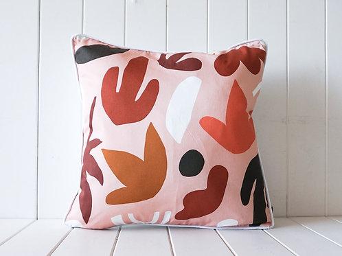 Autumn Floral Pink - Indoor Cushion