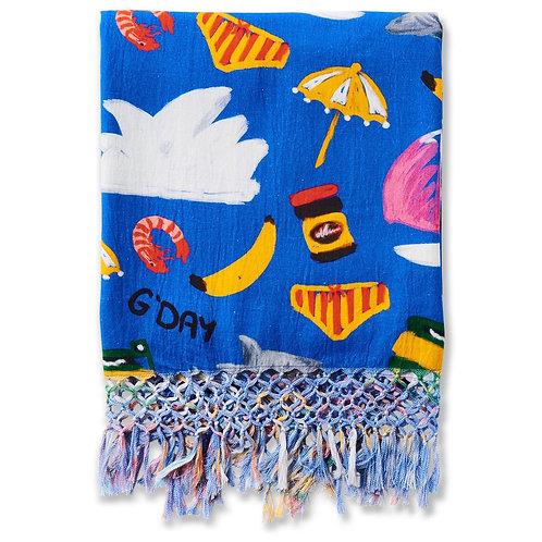 Aussie Icons Cotton Hammam Towel