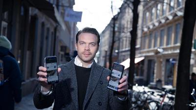 Daniel Diegelmann vill att vi ska dela mobilskärm med varandra