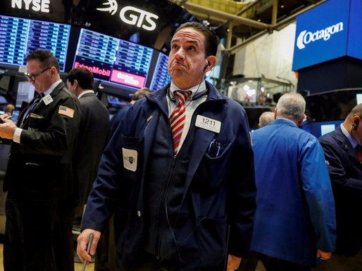 WALL STREET RECORDS HIGH WITH TECH AND HEALTHCARE