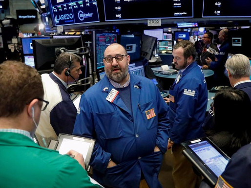 WALL STREET HIGH WITH THE TECH AND ENERGY STOCKS