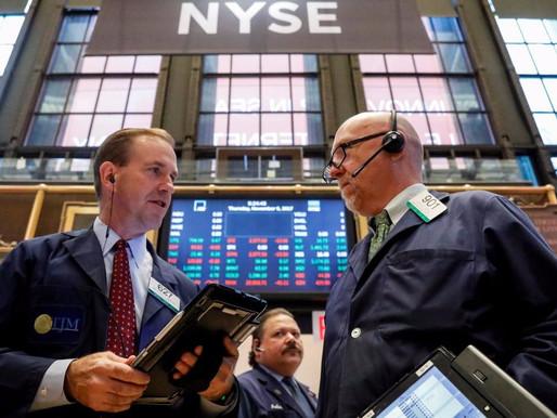 OIL STOCK AND TAX BILLS LOWERS WALL STREET