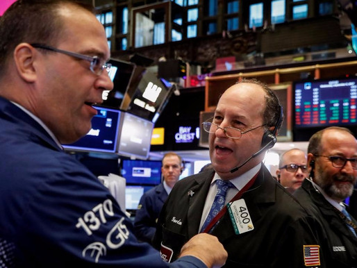 WALL STREET SETS ITS RECORD HIGH