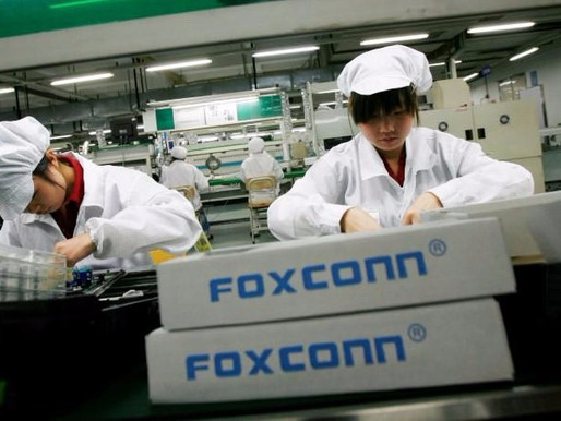 GOOGLE TEAMED-UP WITH FOXCONN