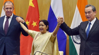 INDIA,RUSSIA & CHINA TO RESOLVE THE COUNTER-TERROR
