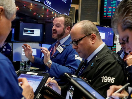 BANK AND HEALTHCARE HELPS WALL STREET GAIN
