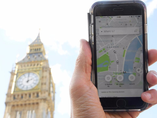 UBER CEO APOLOGIZES LONDON FOR MISTAKES IN APP