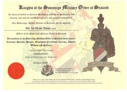 england in sealand knight sir nam in woo