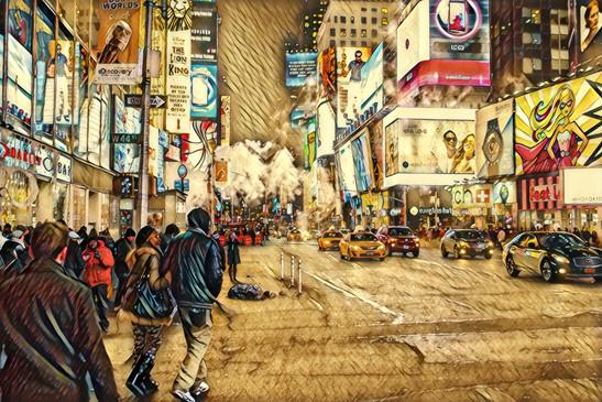 1999.10. 뉴욕커들과 거리의 상점들.jpg