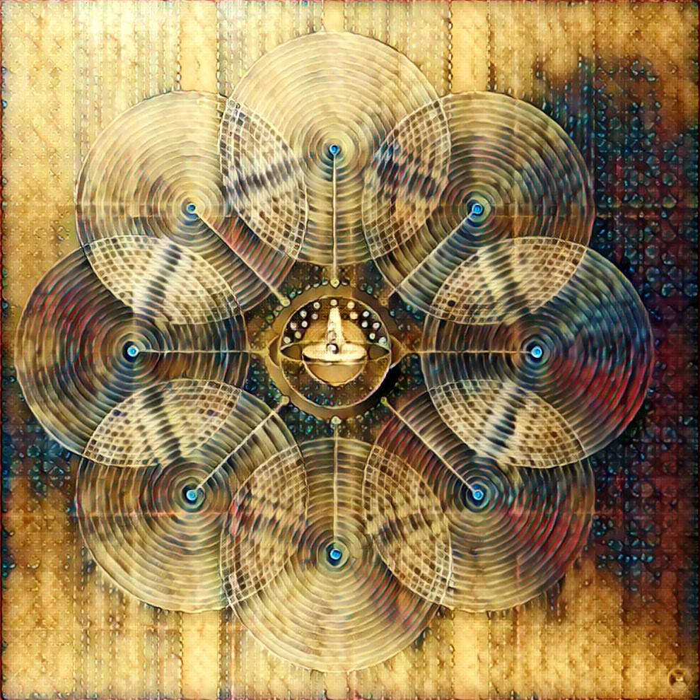 바벨탑과 4차원의 연결-sin