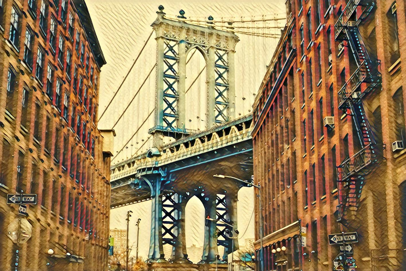 1999.10. 건물사이에 보이는 뉴욕 금문교.jpg